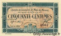 50 Centimes FRANCE régionalisme et divers Mont-De-Marsan 1917 JP.082.18 SPL à NEUF