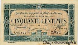 50 Centimes FRANCE régionalisme et divers MONT-DE-MARSAN 1917 JP.082.18 TTB à SUP