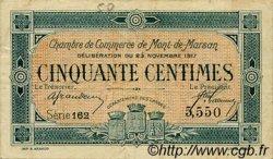 50 Centimes FRANCE régionalisme et divers Mont-De-Marsan 1917 JP.082.25 TB