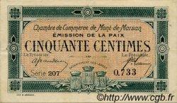 50 Centimes FRANCE régionalisme et divers MONT-DE-MARSAN 1918 JP.082.30 TTB à SUP