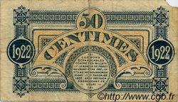 50 Centimes FRANCE régionalisme et divers Mont-De-Marsan 1922 JP.082.36 TB