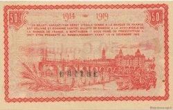 50 Centimes FRANCE régionalisme et divers Montauban 1914 JP.083.01 SPL à NEUF