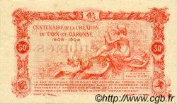 50 Centimes FRANCE régionalisme et divers MONTAUBAN 1917 JP.083.13 TTB à SUP