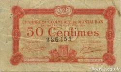 50 Centimes FRANCE régionalisme et divers MONTAUBAN 1917 JP.083.13 TB