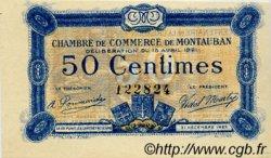 50 Centimes FRANCE régionalisme et divers MONTAUBAN 1921 JP.083.17 SPL à NEUF