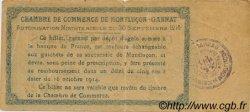50 Centimes FRANCE régionalisme et divers MONTLUÇON, GANNAT 1914 JP.084.01 TTB à SUP