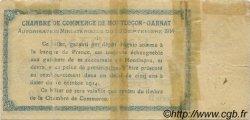 1 Franc FRANCE régionalisme et divers Montluçon, Gannat 1914 JP.084.02 TB