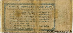 50 Centimes FRANCE régionalisme et divers Montluçon, Gannat 1914 JP.084.04 TB
