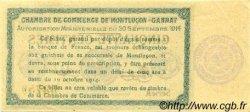 50 Centimes FRANCE régionalisme et divers MONTLUÇON, GANNAT 1914 JP.084.07 SPL à NEUF