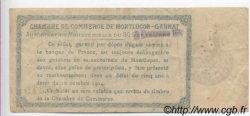50 Centimes FRANCE régionalisme et divers MONTLUÇON, GANNAT 1914 JP.084.10 TB