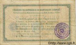 2 Francs FRANCE régionalisme et divers MONTLUÇON, GANNAT 1916 JP.084.26 TB