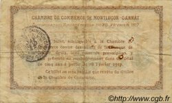 2 Francs FRANCE régionalisme et divers Montluçon, Gannat 1917 JP.084.33 TB
