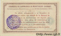1 Franc FRANCE régionalisme et divers MONTLUÇON, GANNAT 1917 JP.084.37 SPL à NEUF