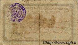 50 Centimes FRANCE régionalisme et divers MONTLUÇON, GANNAT 1918 JP.084.40 TB