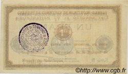 1 Franc FRANCE régionalisme et divers Montluçon, Gannat 1918 JP.084.42 TTB à SUP