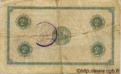 2 Francs FRANCE régionalisme et divers MONTLUÇON, GANNAT 1918 JP.084.44 TB