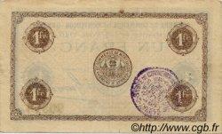1 Franc FRANCE régionalisme et divers MONTLUÇON, GANNAT 1920 JP.084.52 TTB à SUP