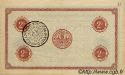2 Francs FRANCE régionalisme et divers MONTLUÇON, GANNAT 1920 JP.084.54 TTB à SUP
