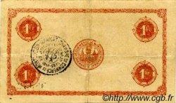 1 Franc FRANCE régionalisme et divers MONTLUÇON, GANNAT 1921 JP.084.63 TTB à SUP