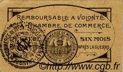 25 Centimes FRANCE régionalisme et divers Montluçon, Gannat 1918 JP.084.68 TTB à SUP