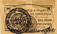 5 Centimes FRANCE régionalisme et divers Montluçon, Gannat 1918 JP.084.72 TTB à SUP
