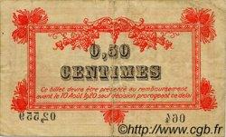 50 Centimes FRANCE régionalisme et divers MONTPELLIER 1915 JP.085.06 TB