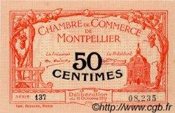 50 Centimes FRANCE régionalisme et divers Montpellier 1917 JP.085.16 SPL à NEUF