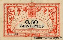 50 Centimes FRANCE régionalisme et divers MONTPELLIER 1917 JP.085.16 TTB à SUP