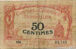 50 Centimes FRANCE régionalisme et divers MONTPELLIER 1917 JP.085.16 TB