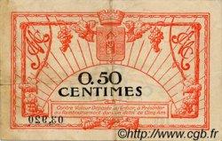 50 Centimes FRANCE régionalisme et divers MONTPELLIER 1919 JP.085.20 TB