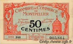 50 Centimes FRANCE régionalisme et divers Montpellier 1921 JP.085.22 TTB à SUP