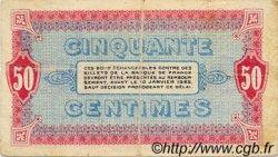 50 Centimes FRANCE régionalisme et divers MOULINS ET LAPALISSE 1920 JP.086.15 TB