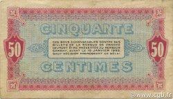 50 Centimes FRANCE régionalisme et divers MOULINS ET LAPALISSE 1920 JP.086.18 TTB à SUP