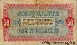 50 Centimes FRANCE régionalisme et divers Moulins et Lapalisse 1920 JP.086.18 TB