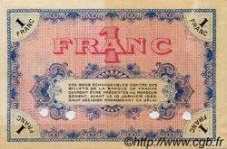 1 Franc FRANCE régionalisme et divers MOULINS ET LAPALISSE 1920 JP.086.21 TTB à SUP