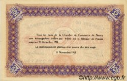 2 Francs FRANCE régionalisme et divers Nancy 1918 JP.087.25 SPL à NEUF