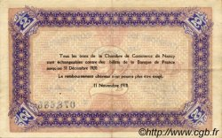 2 Francs FRANCE régionalisme et divers NANCY 1918 JP.087.25 TTB à SUP