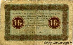 1 Franc FRANCE régionalisme et divers NANCY 1920 JP.087.42 TB