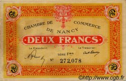 2 Francs FRANCE régionalisme et divers Nancy 1921 JP.087.52 TTB à SUP