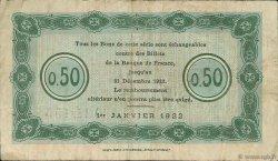 50 Centimes FRANCE régionalisme et divers NANCY 1922 JP.087.53 TB