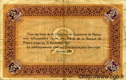 1 Franc FRANCE régionalisme et divers NANCY 1922 JP.087.54 TB