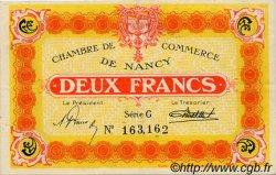 2 Francs FRANCE régionalisme et divers NANCY 1922 JP.087.55 TTB à SUP