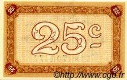 25 Centimes FRANCE régionalisme et divers NANCY 1918 JP.087.56 SPL à NEUF