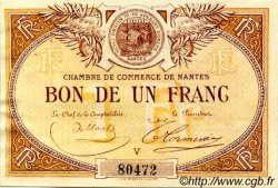 1 Franc FRANCE régionalisme et divers Nantes 1918 JP.088.05 TTB à SUP