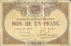 1 Franc FRANCE régionalisme et divers NANTES 1918 JP.088.05 TB