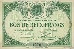 2 Francs FRANCE régionalisme et divers Nantes 1918 JP.088.10 SPL à NEUF