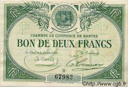 2 Francs FRANCE régionalisme et divers NANTES 1918 JP.088.10 TTB à SUP
