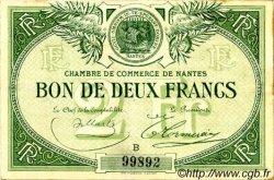 2 Francs FRANCE régionalisme et divers Nantes 1918 JP.088.10 TB