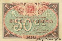 50 Centimes FRANCE régionalisme et divers Nantes 1918 JP.088.16 SPL à NEUF