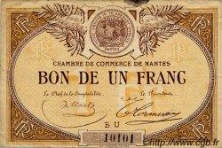 1 Franc FRANCE régionalisme et divers NANTES 1918 JP.088.19 TB
